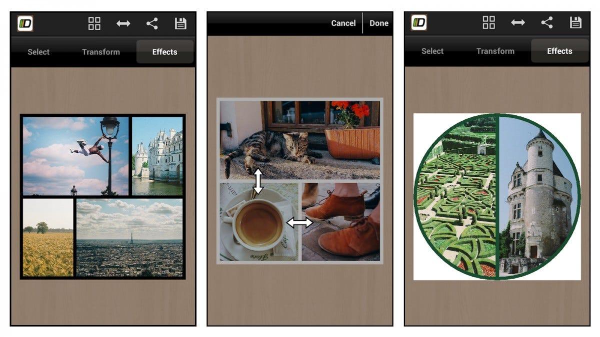 Diptic Photo Collage App