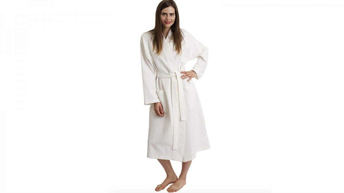 towel selections waffle robe