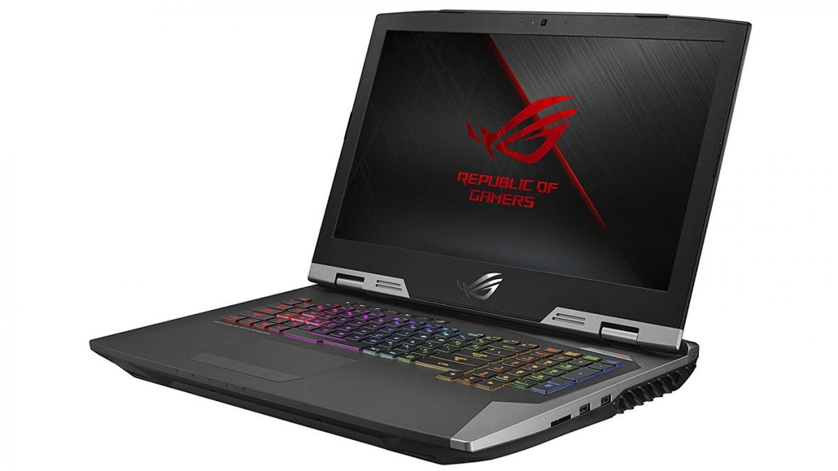 gaming laptop, asus, rog, gaming notebook, 17 inch,