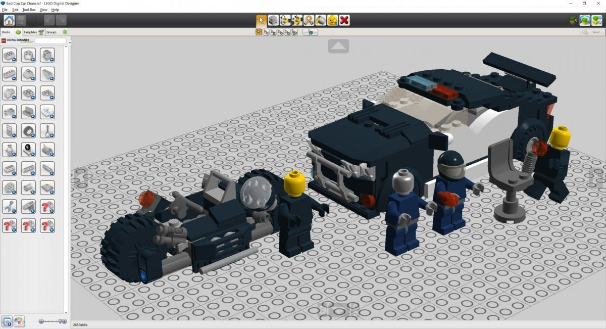 LEGO Digital Designer program.