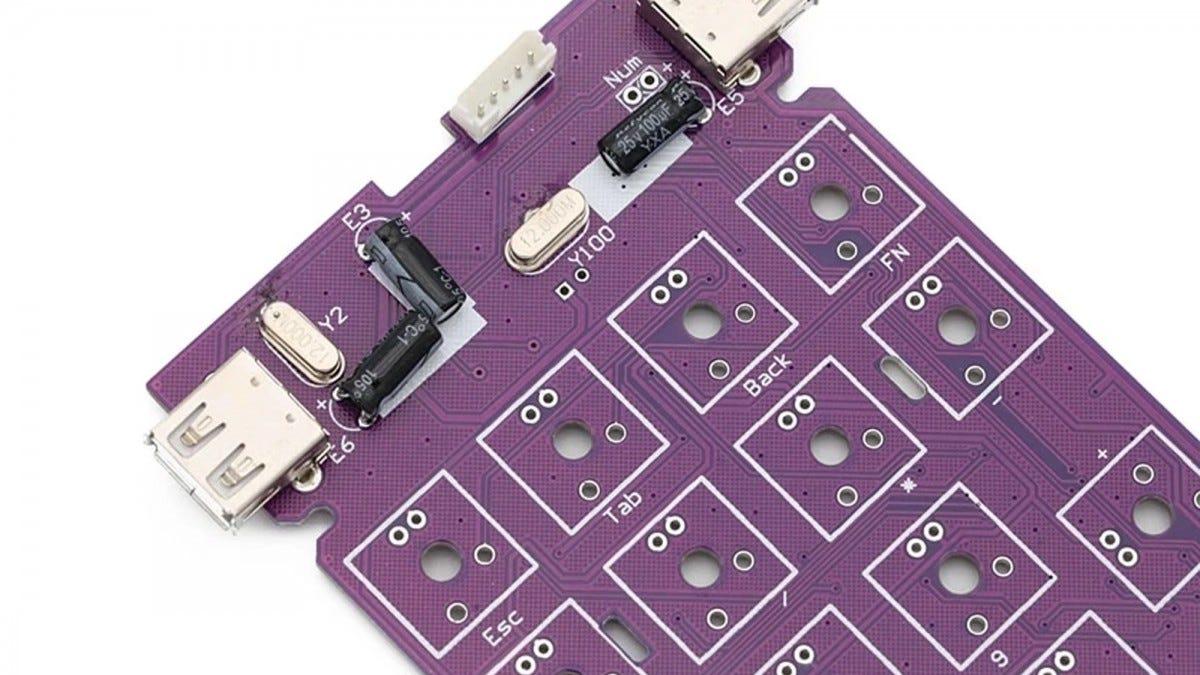 Keypad PCB
