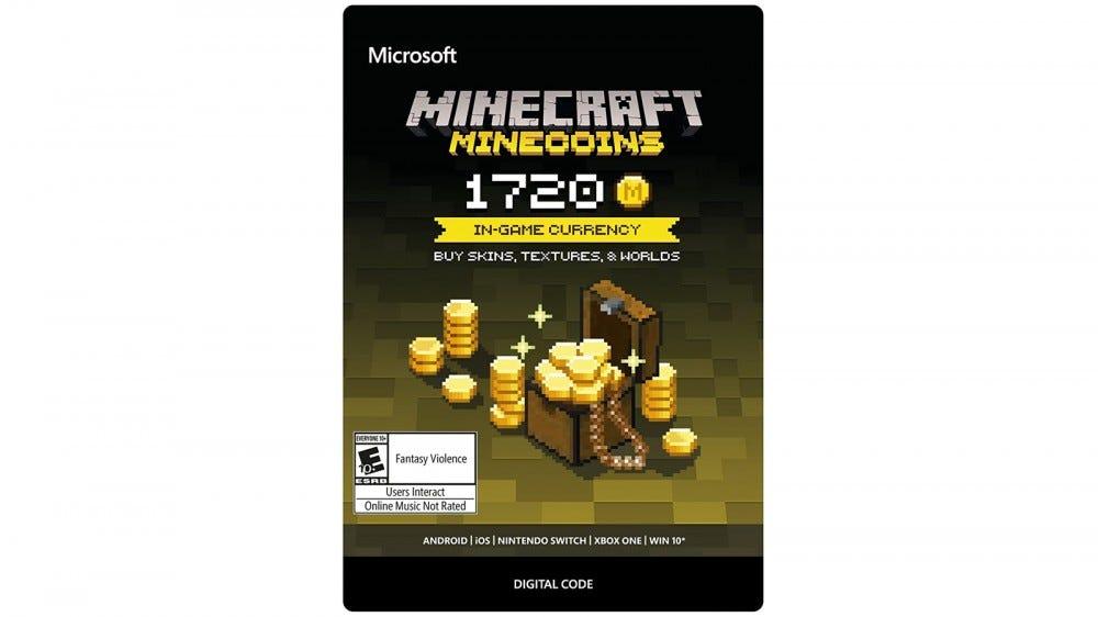 Carte-cadeau numérique Minecoins