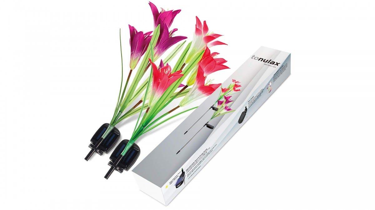 The TONULAX Solar-Powered Flowers