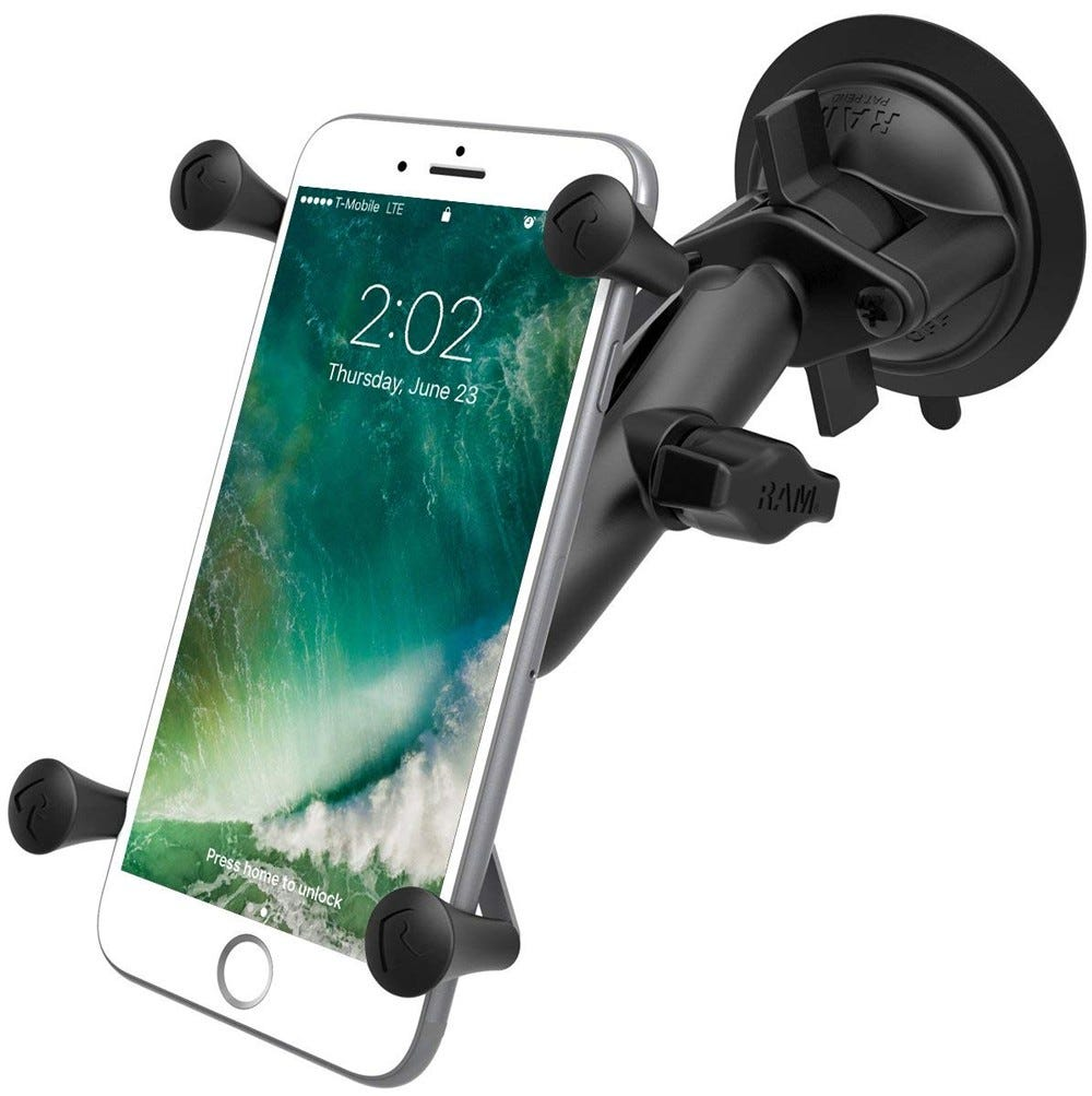 ram mount, premium, car dock, phone dock,