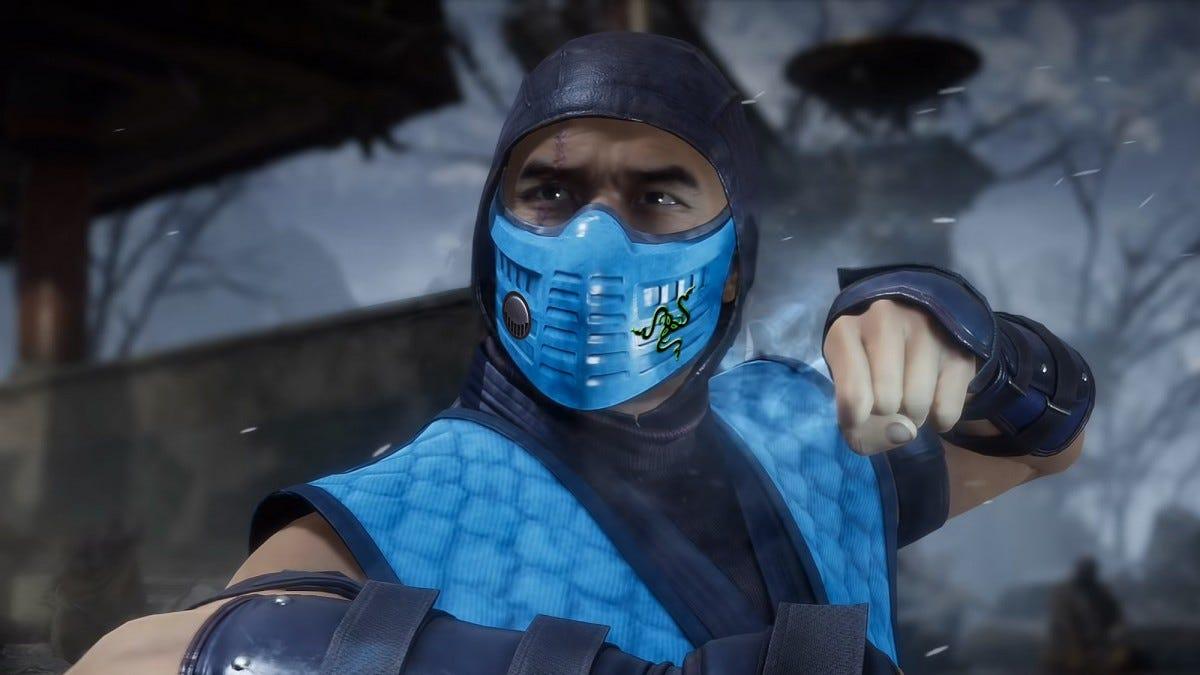 Screenshot from Mortal Kombat 11.