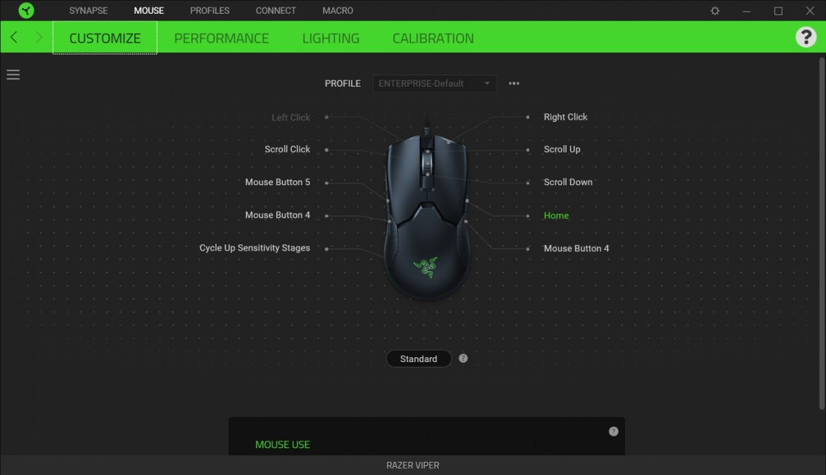 The Synapse software is much better than it was and no longer needs a Razer account.
