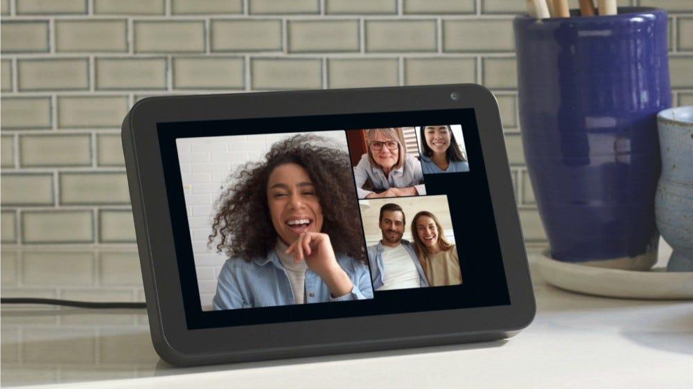 Group call on Amazon Echo device