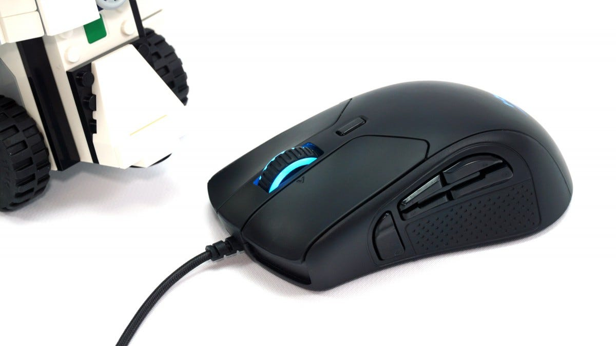 The Pulsefire Raid PC gaming mouse.