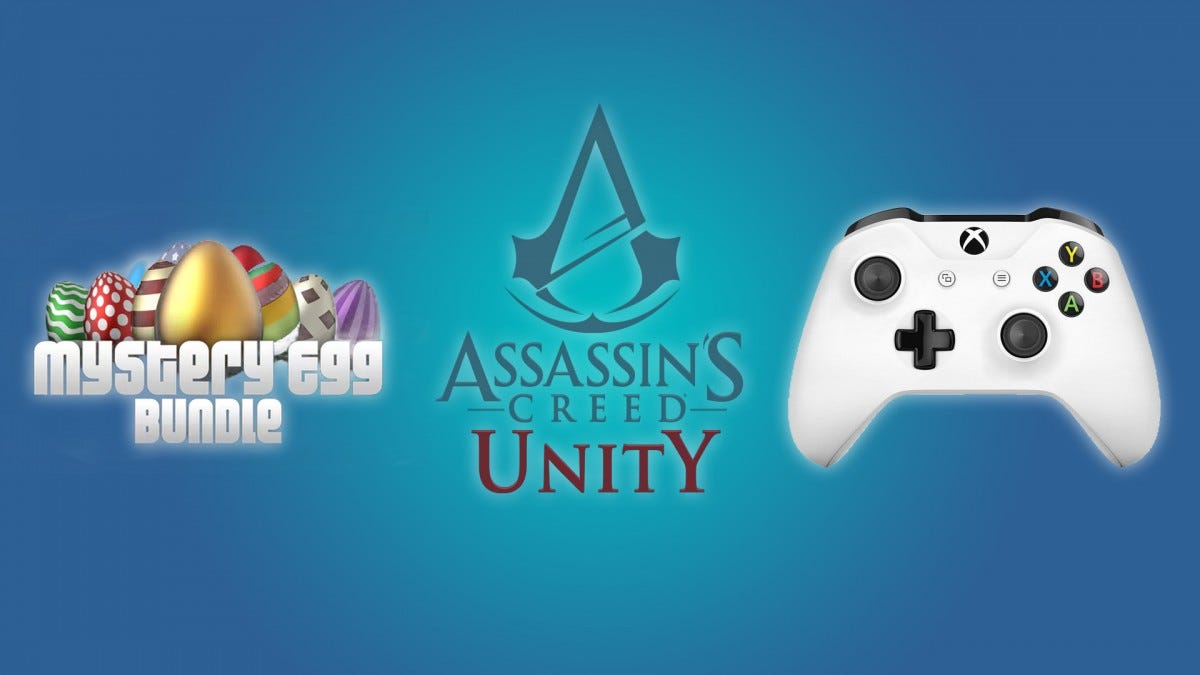 The Mystery Egg Bundle, Assassin's Creed: Unity, and the Xbox One Controller