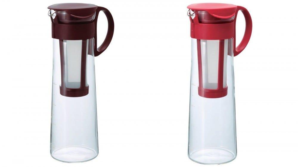 Hario Mizudashi easiest to use cold brew coffee maker small size