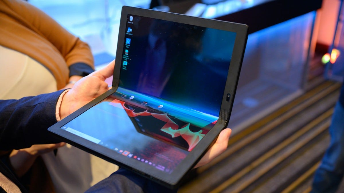 The Lenovo Thinkpad X1 Fold