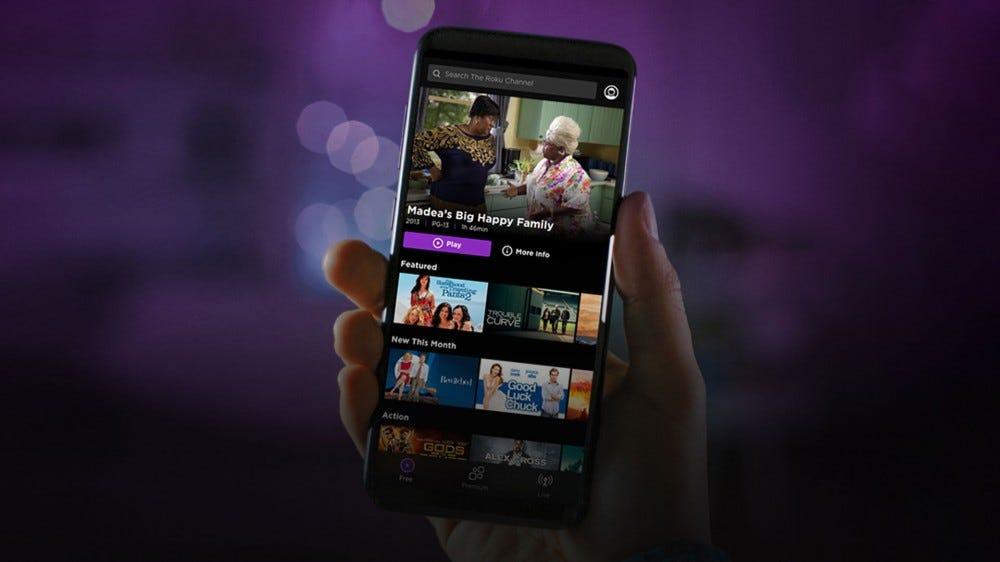Roku channel mobile app