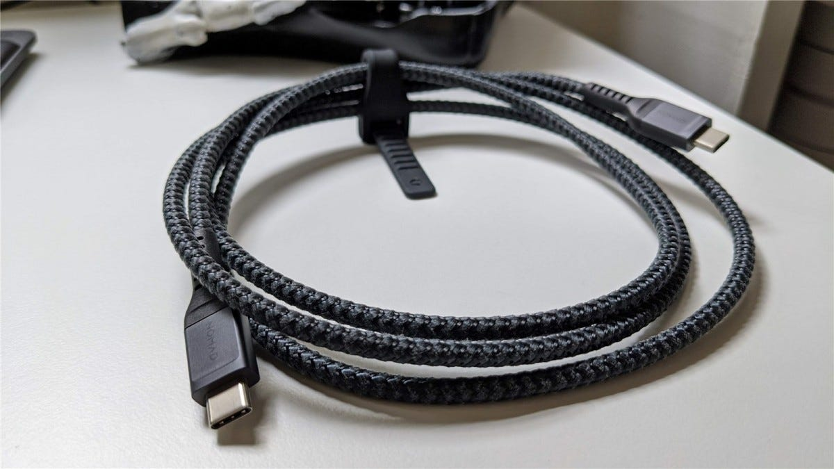 Nomad USB-C cable.