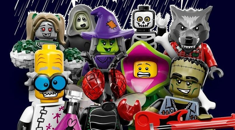LRGO's limited edition minifig packs get you exclusive figures in inexpensive packages.