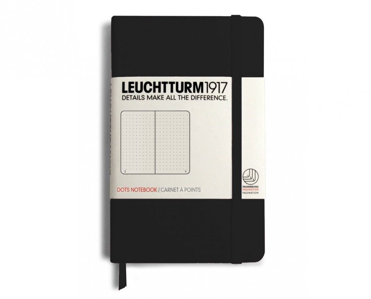 LEUCHTTURM1917 pocket notebook