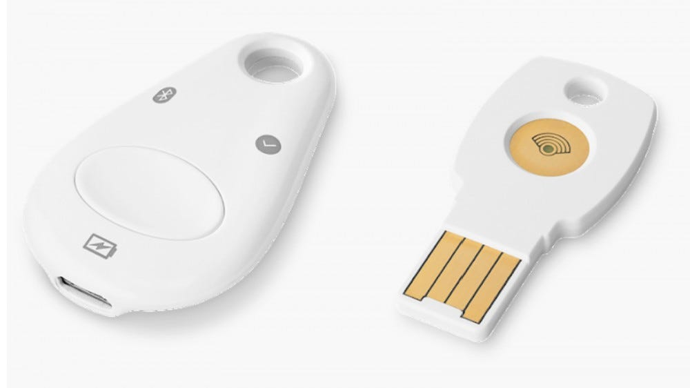 Bundle with Google Titan Security Keys
