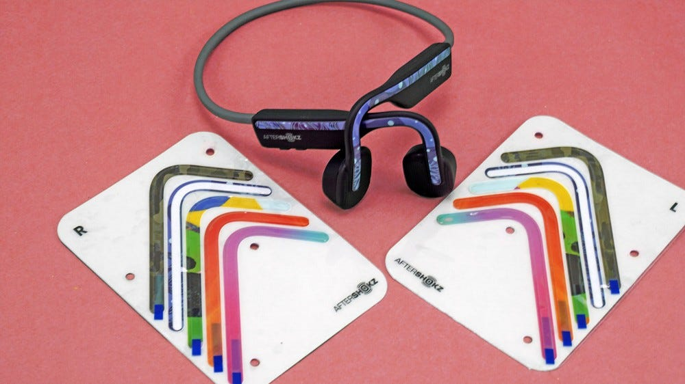 Aftershokz Openmove decorative stickers