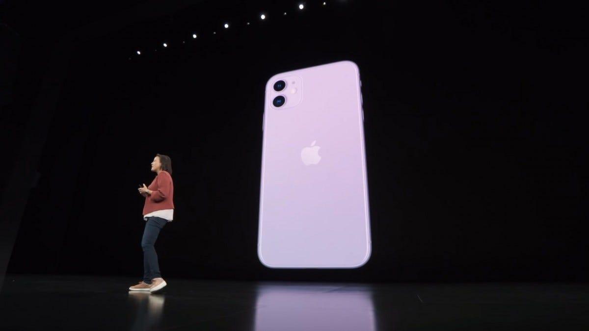 Apple iPhone presentation