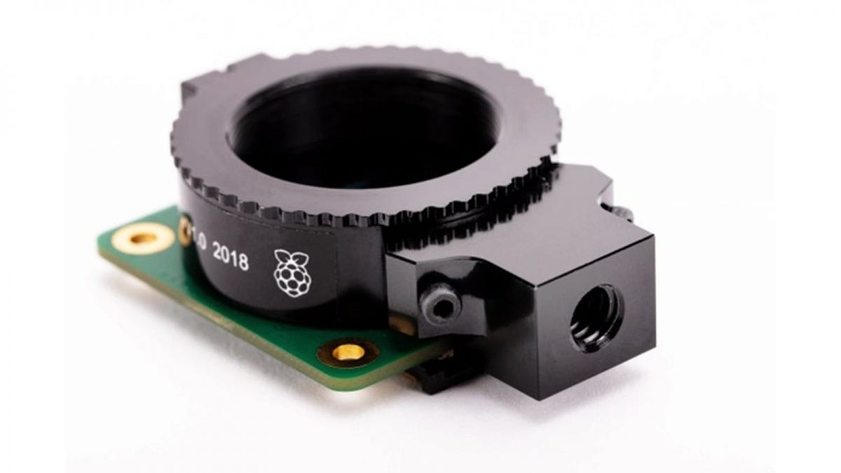 The High Quality Camera module without a lens attached.