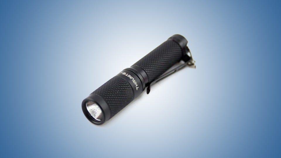 flash light on