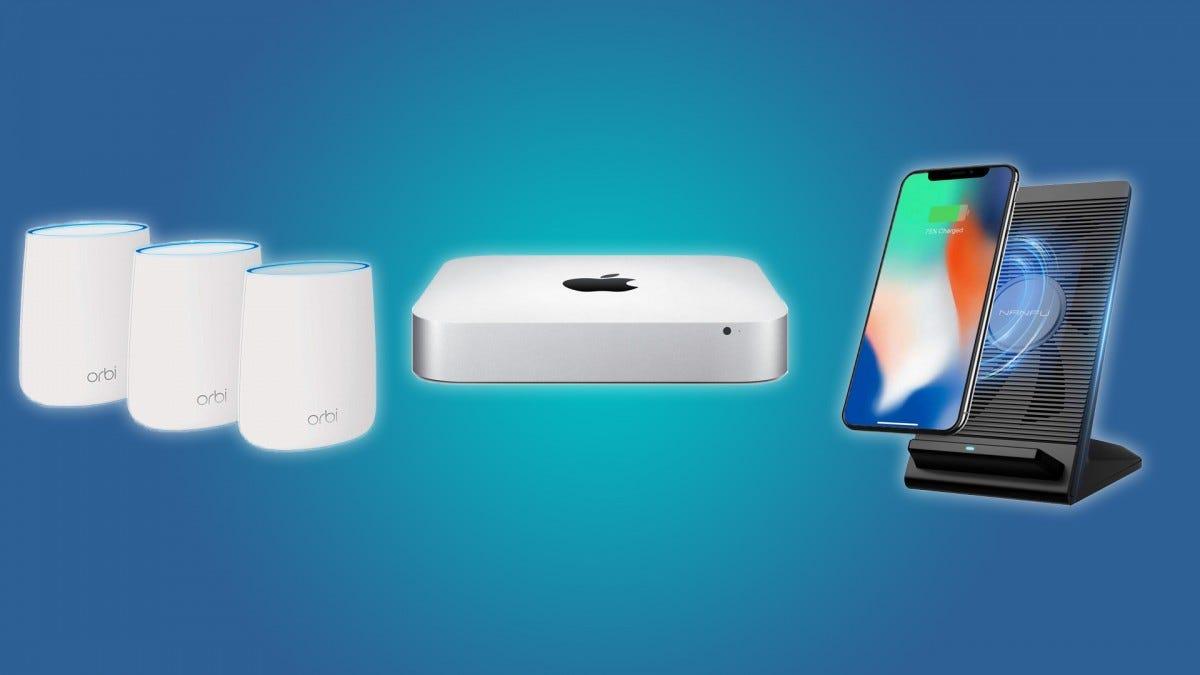 Tägliche Angebote: 530 US-Dollar für Mac Mini, 210-US-Dollar-WLAN-Kit von Orbi, luftgekühltes, drahtloses Qi-Ladegerät für 10 US-Dollar und mehr