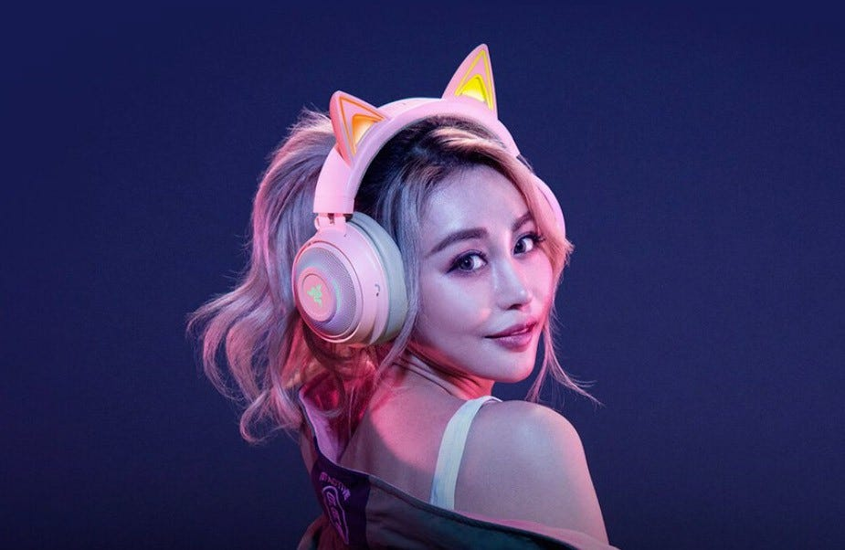 Razer Krakken Kitty headset