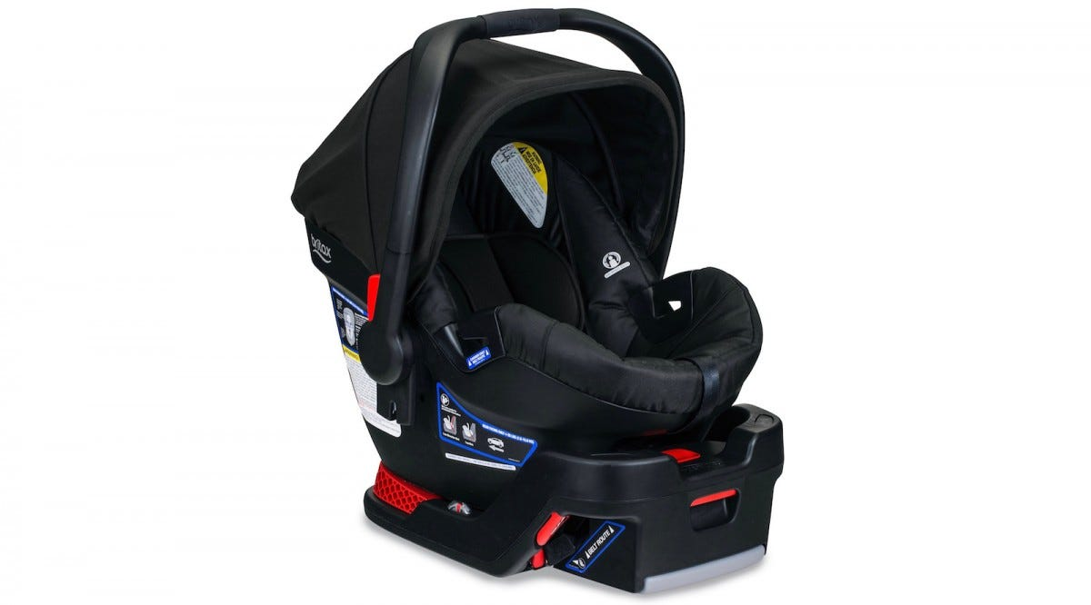 The Britax B-Safe Ultra Infant car seat.