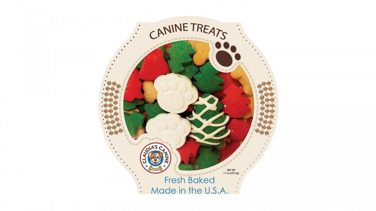 Claudia's Gourmet Dog Cookies