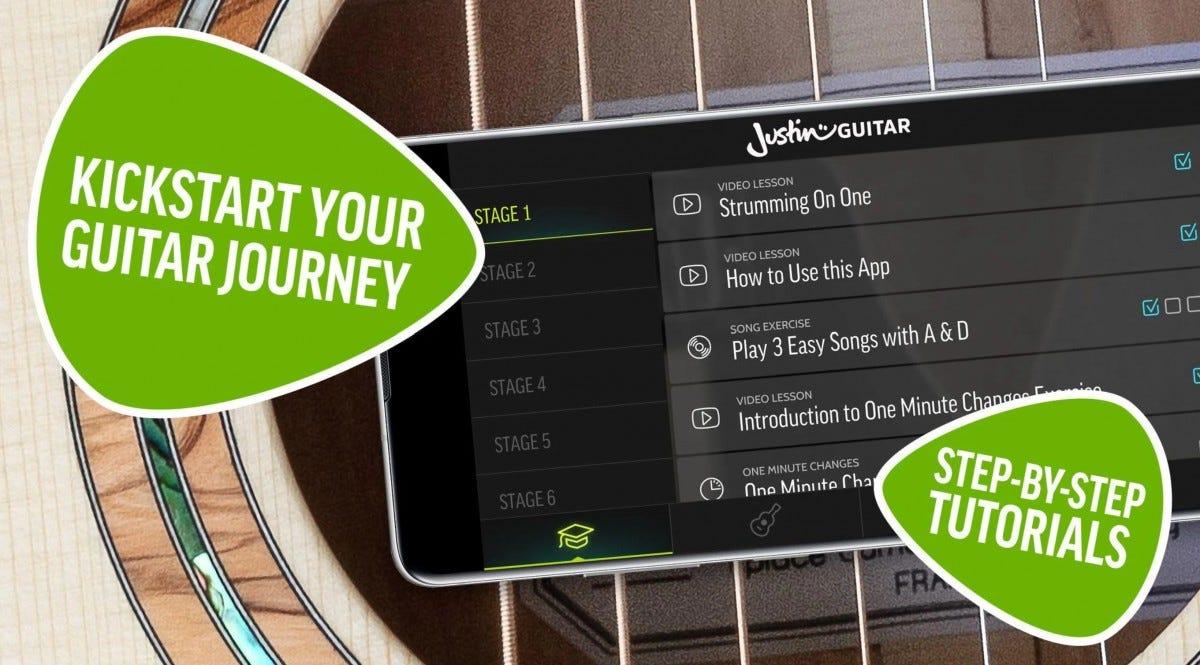 Justin Guitar App