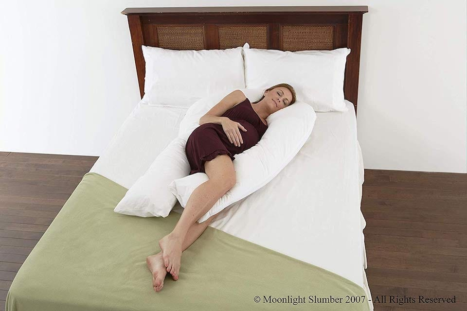 Moonlight Slumber Comfort U Total Body Pillow