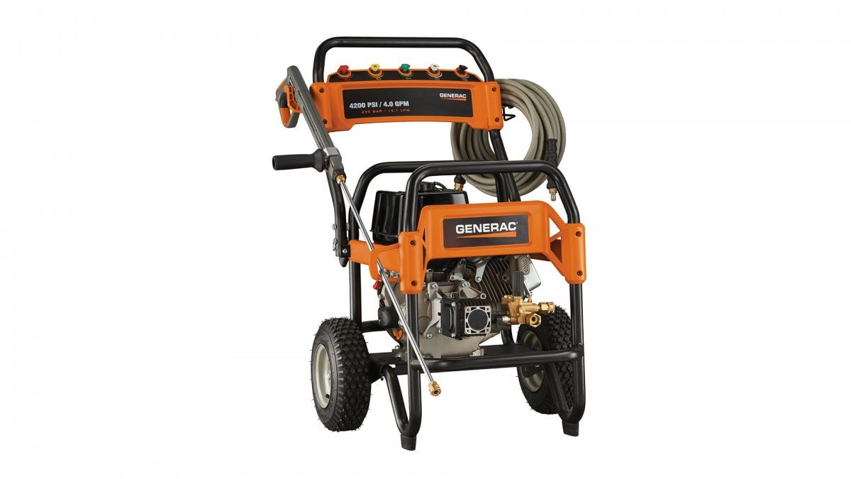 the Bud Generac 6565 Gas Power Washer