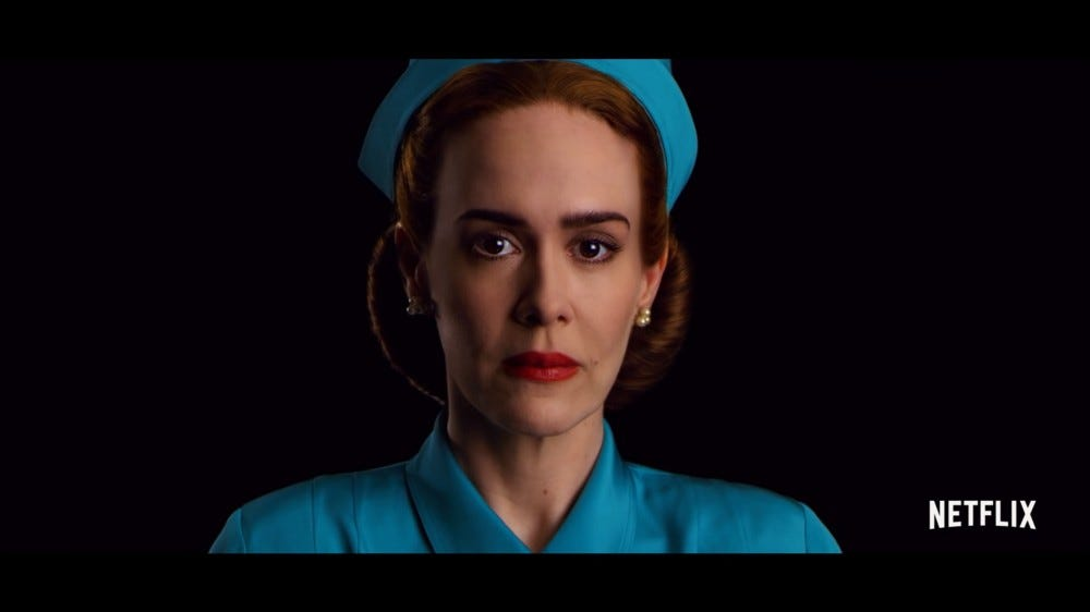 """Sarah Paulson as Mildred Ratched in """"Ratched"""" on Netflix"""