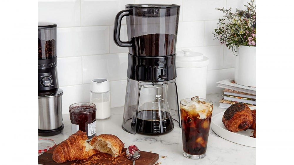 OXO Cold brew coffee maker best cold brew concentrate maker