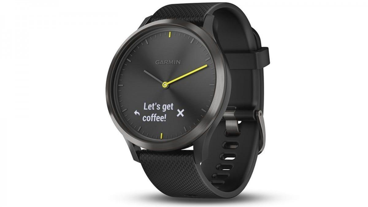 garmin, smartwatch, vivomove, hybrid, fitness