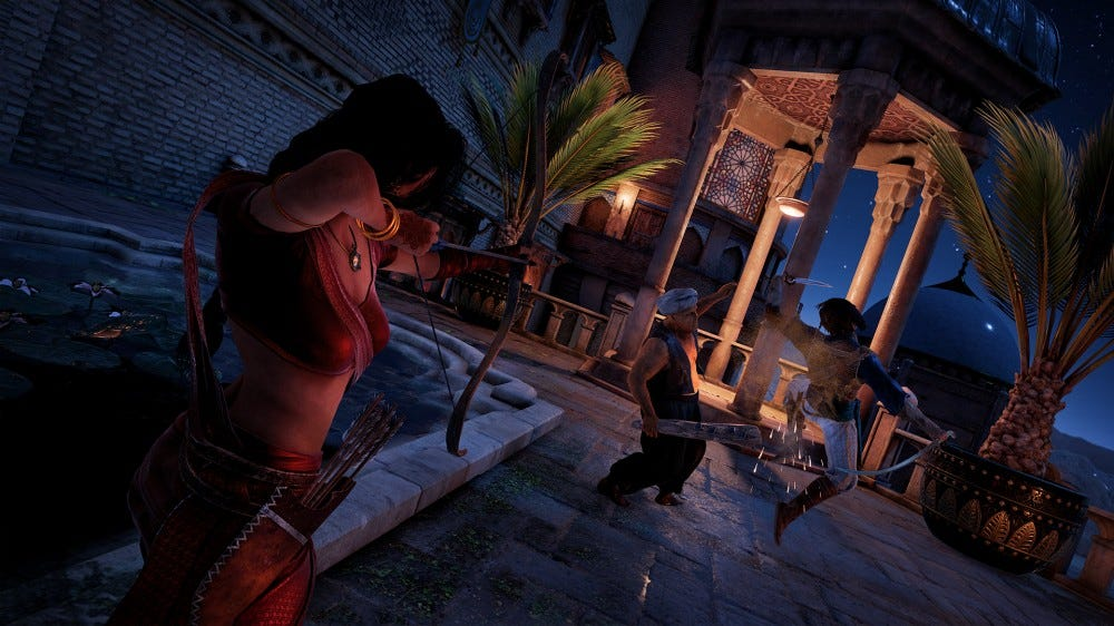 screenshot from The Prince of Persia