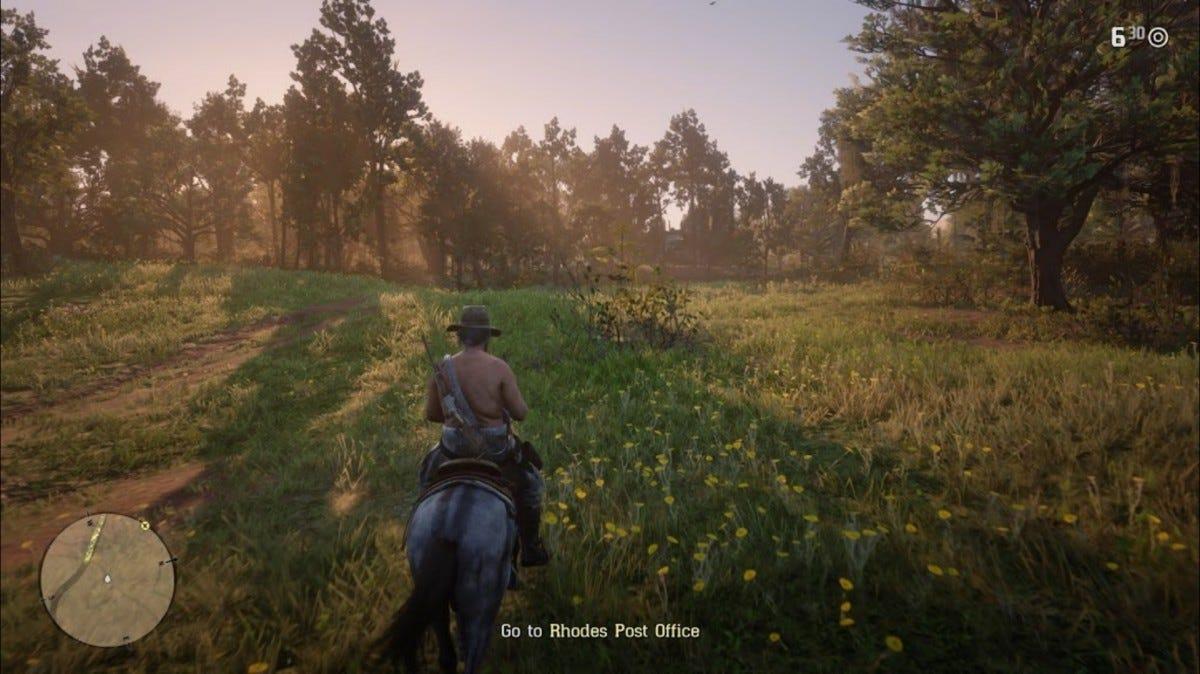 Red Dead Redemption II, by Rockstar