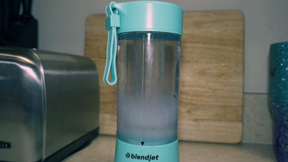 BlendJet One running with only water