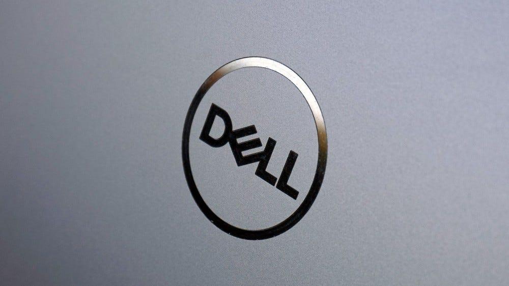 XPS 15, Dell Logo