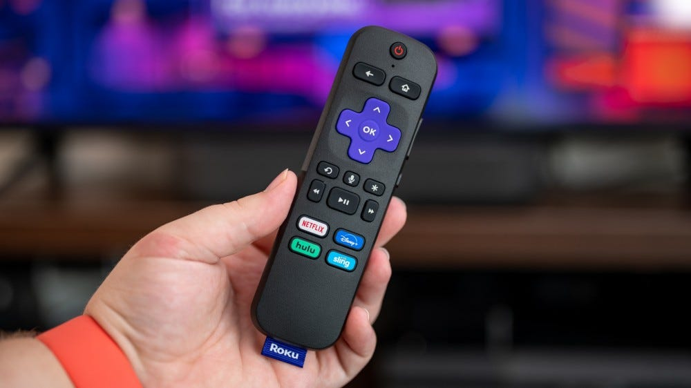 Roku Streambar voice remote control