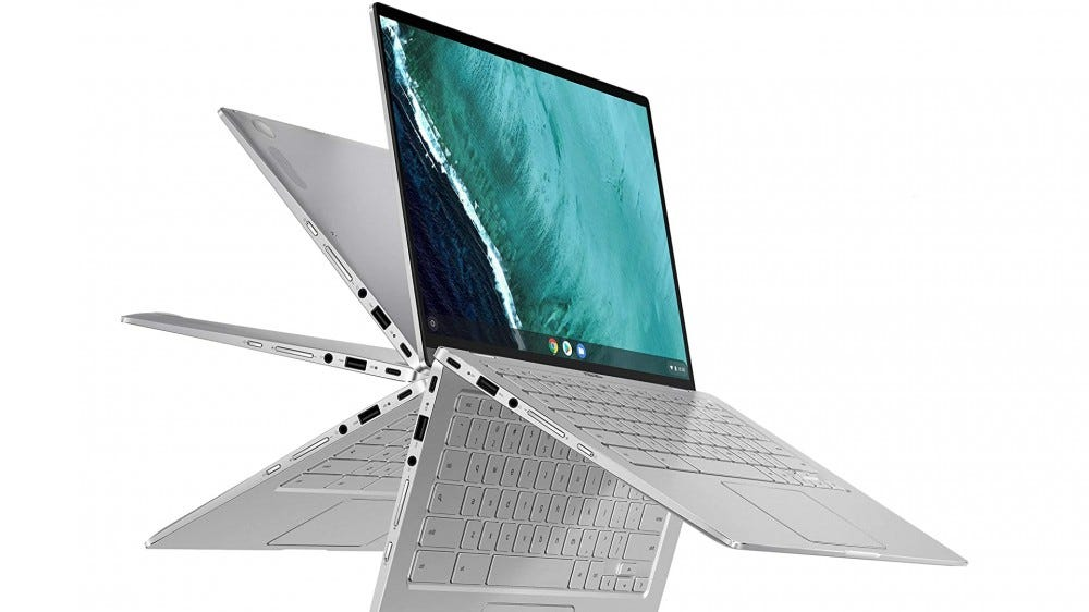 A photo of the ASUS Zenbook FLip.