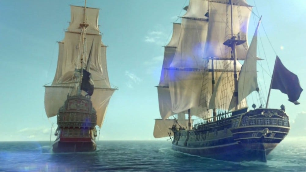 The Walrus and the Ranger on Black Sails