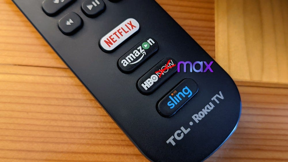 Roku remote with HBO button