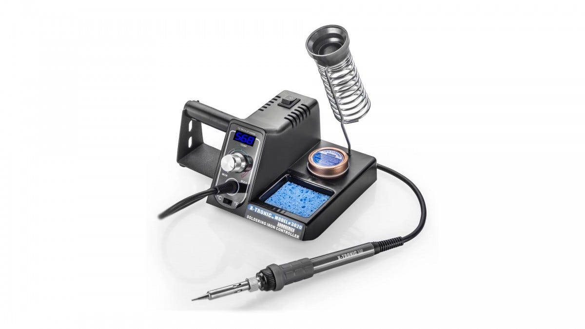 The X-Tronic 3020 Soldering Station