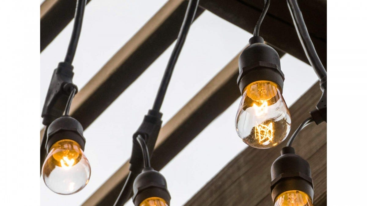 The Amico Edison String Lights