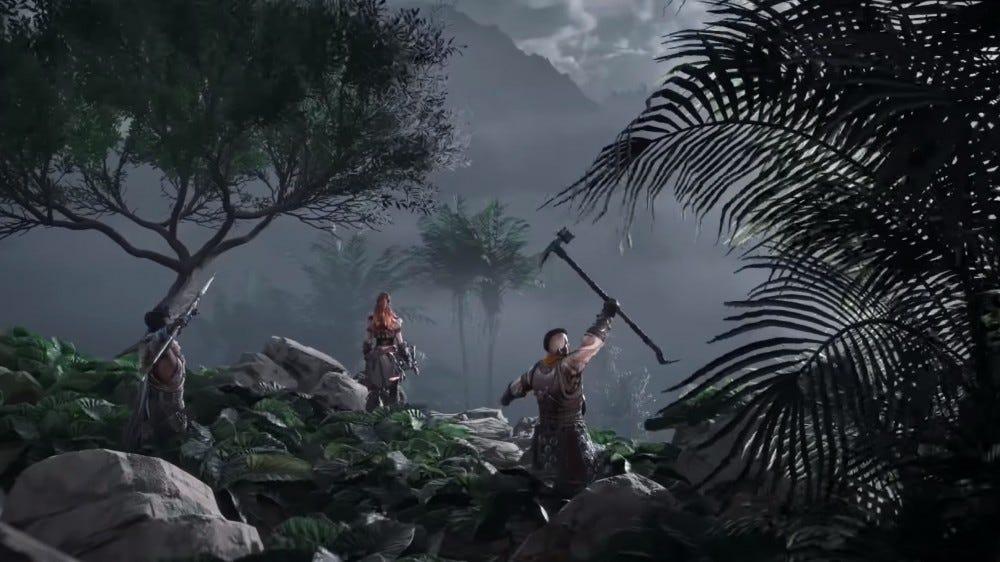 Horizon Zero Dawn story screenshot
