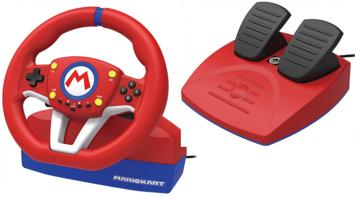 Hori Mario Kart 8 Racing Wheel Standard
