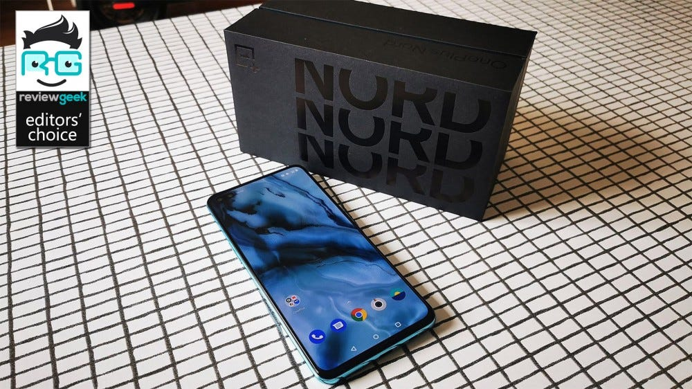 OnePlus Nord with box