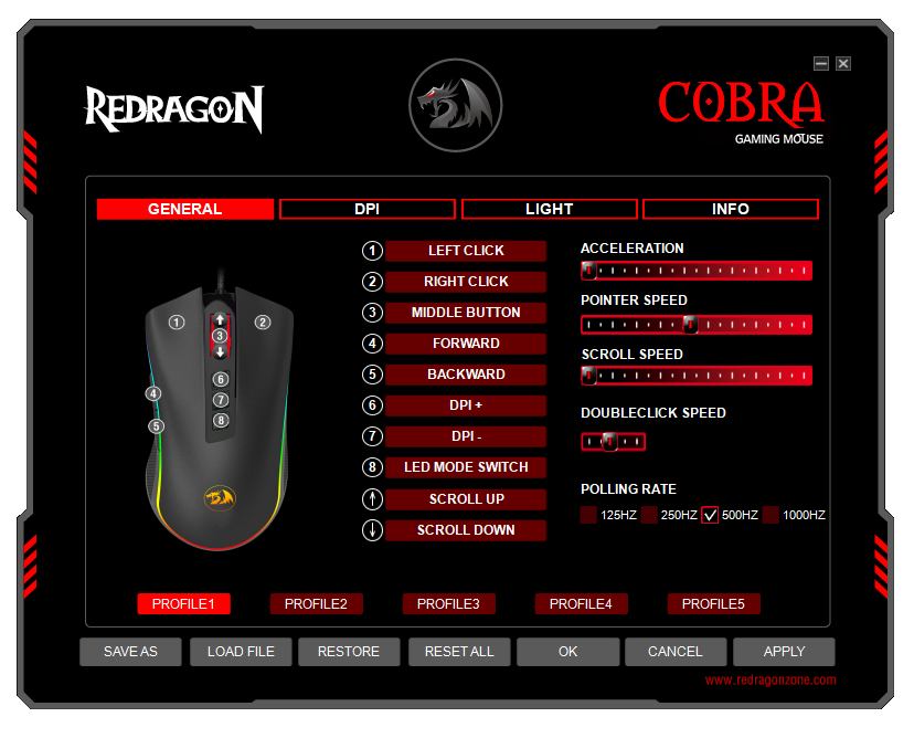 Redragon Software