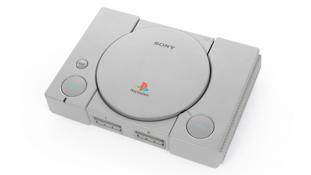 The original Sony PlayStation