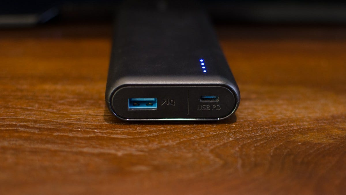 Anker's USB-C PowerCore Speed 20000 PD Is a Beastly, Future